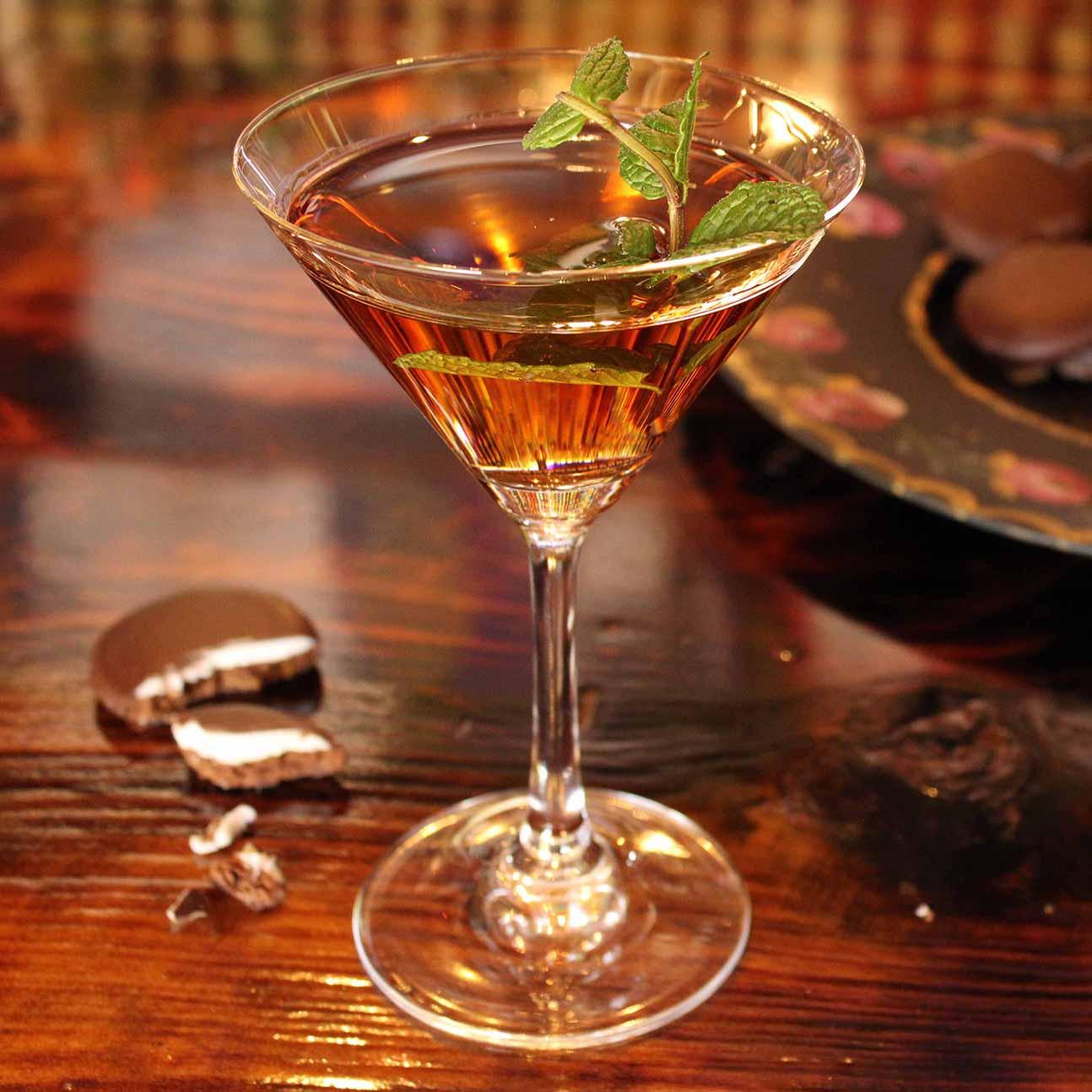 Choc Mint Martini