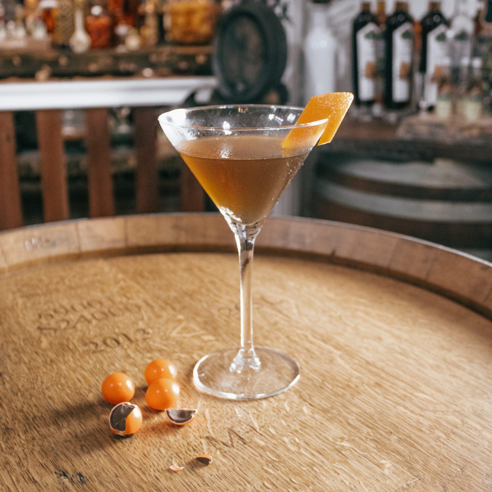 Choc Orange Martini