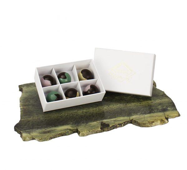 Open Box of Liqueur Chocolates
