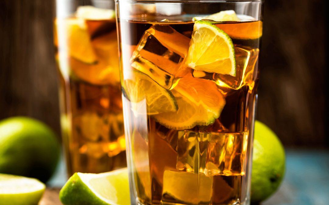 Lemon Myrtle Iced Tea Cocktail