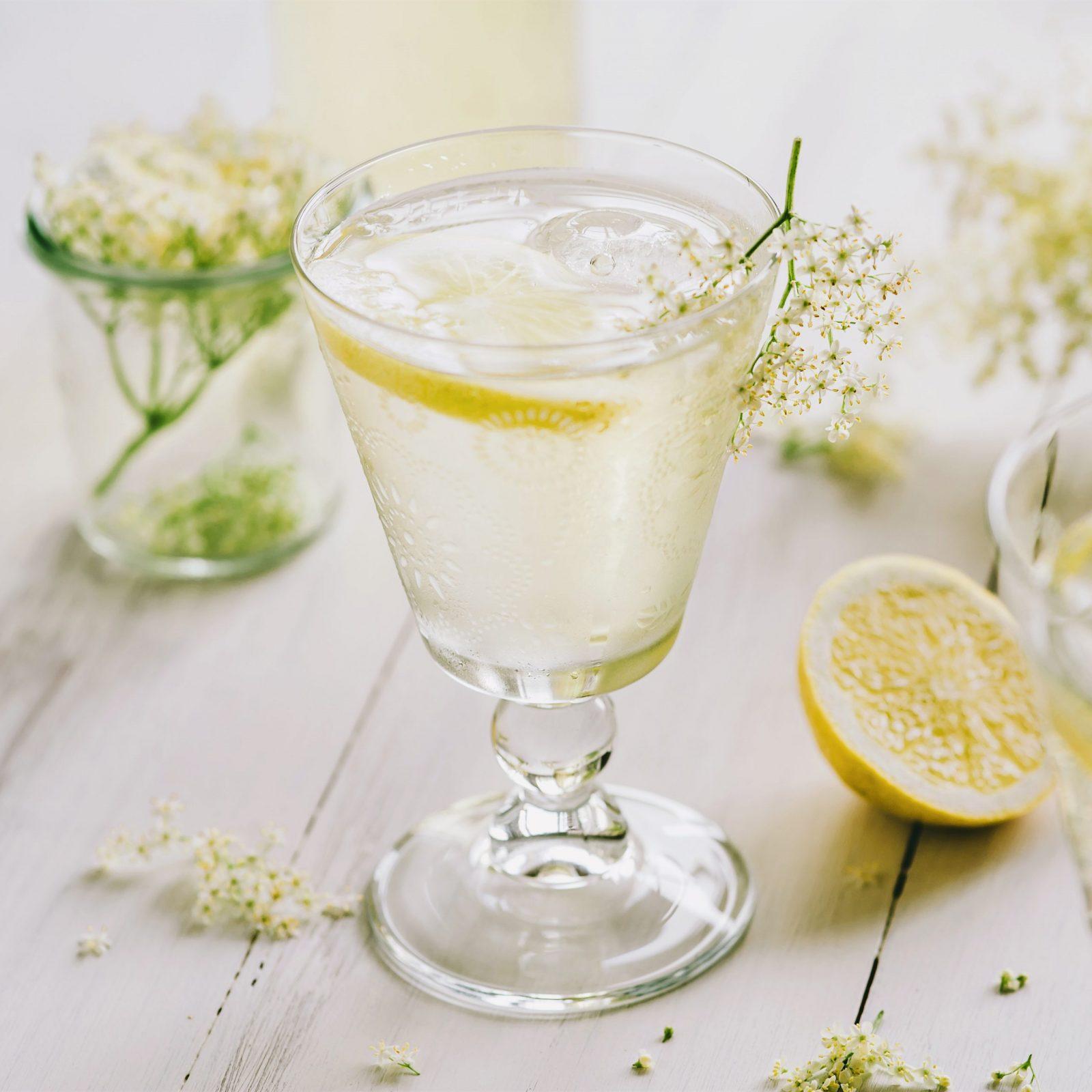 Lychee Elderflower Gin Tonic
