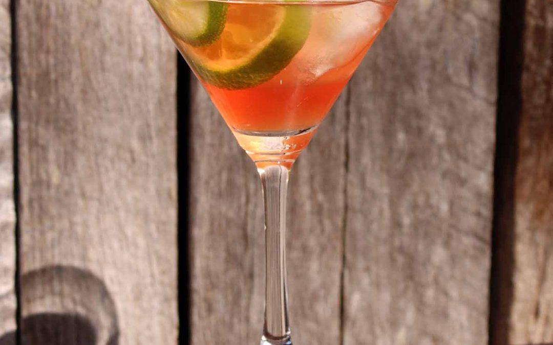 Pink Honey Martini