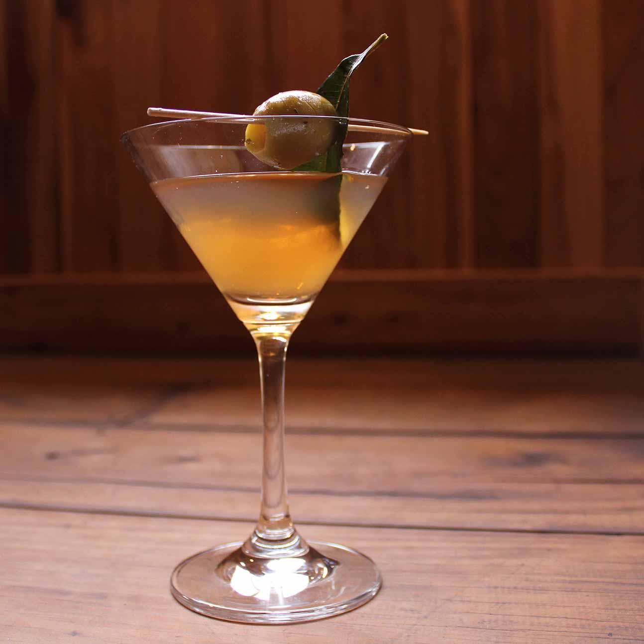 Lemon Myrtle Vodka Martini