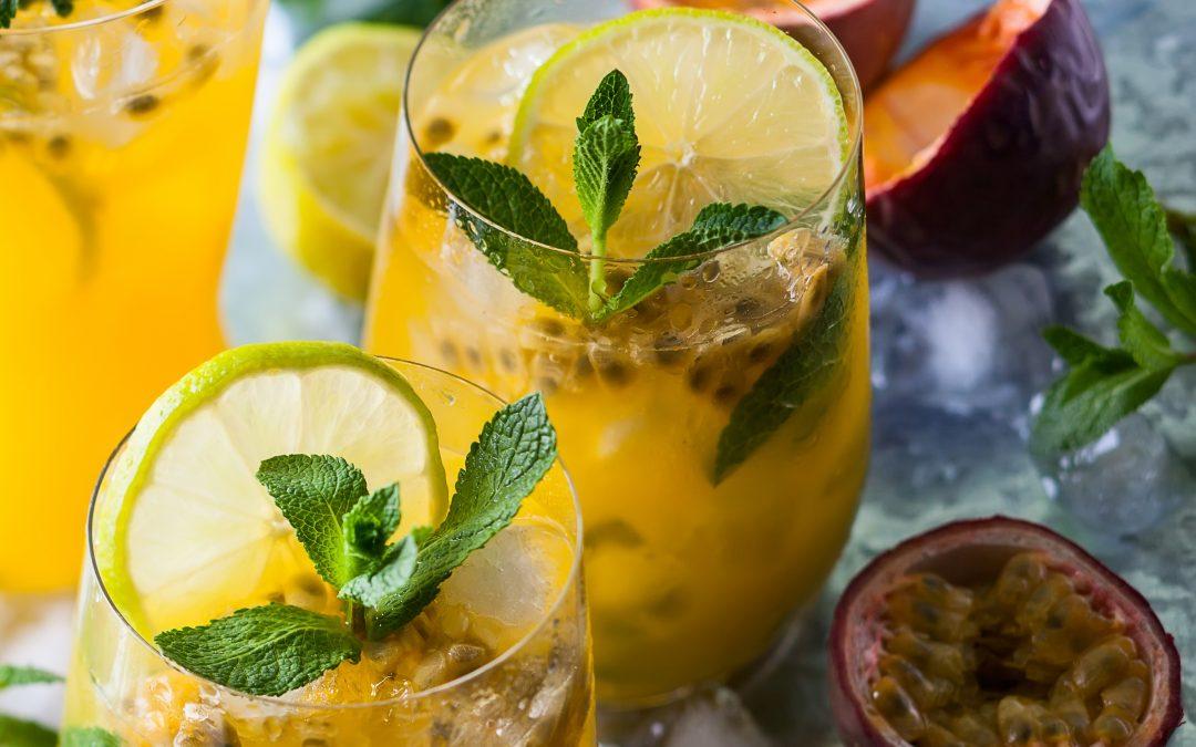 Passionfruit Peaches